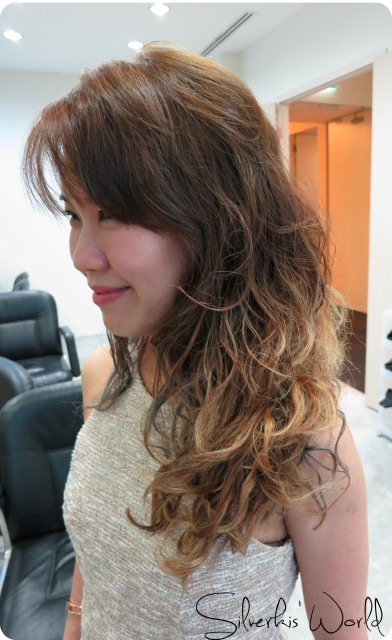 Aveda hair makeover