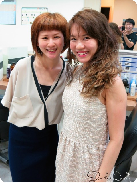 With Vivien
