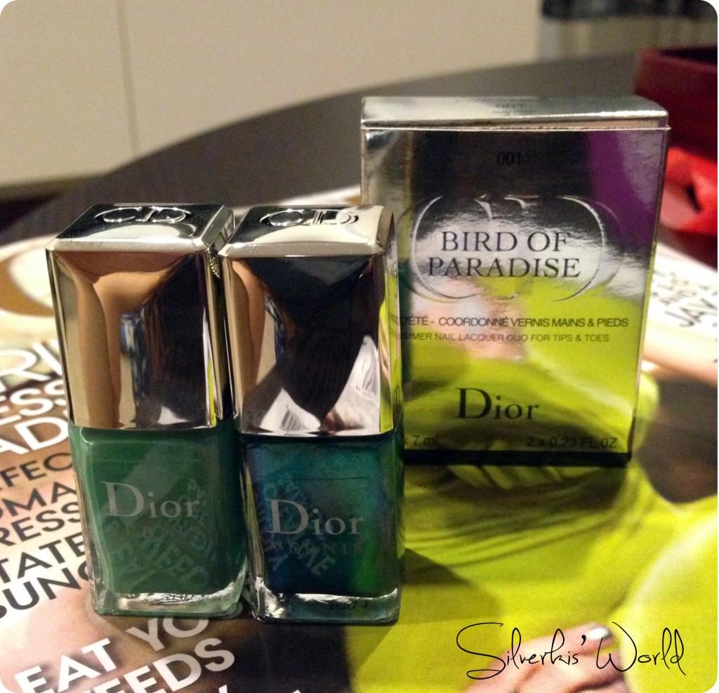 Dior Bird of Paradise Samba duo