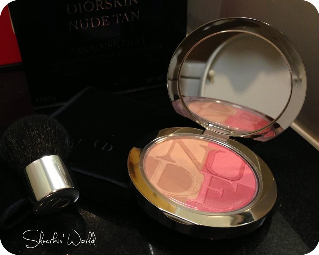 Dior Nude Tan Paradise palette