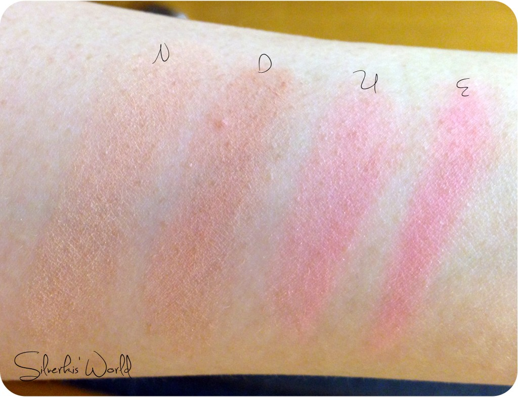 Dior Nude Tan Paradise swatches