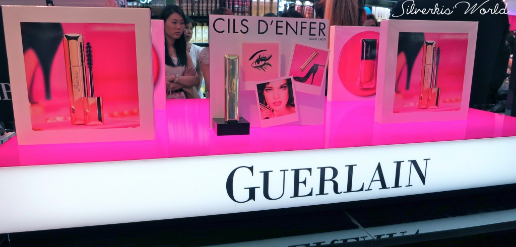 Guerlain Give in to Gloss event