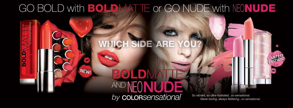 Maybelline Bold Mattes Neo Nudes
