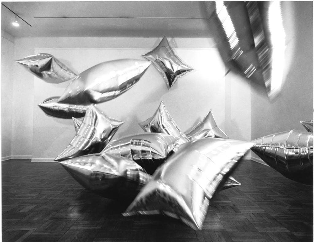 Andy Warhol silver pillows