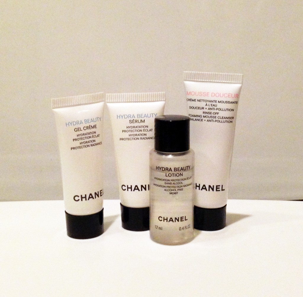 Chanel Hydra Beauty samples