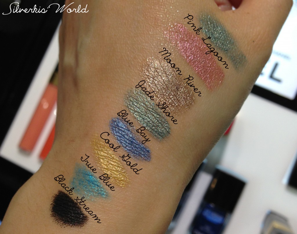 Chanel L'ete Papillon  Stylo Eyeshadow swatches