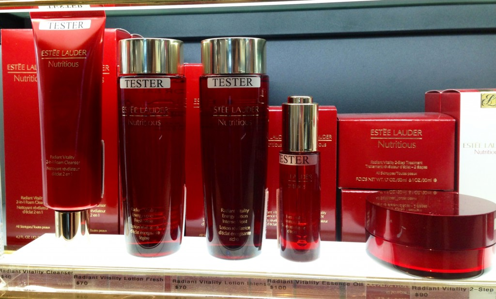 Estee Lauder Nutritious skincare range