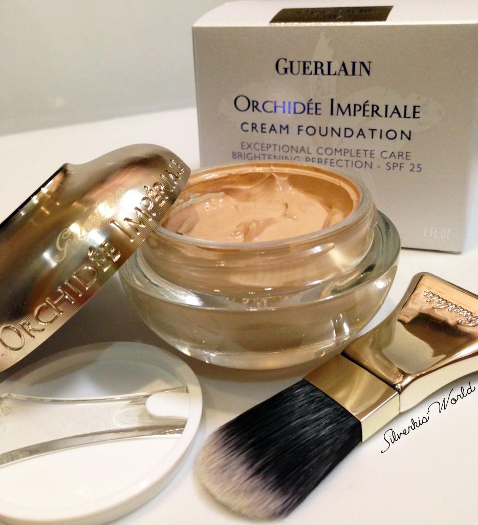Guerlain Orchidee Cream Foundation swatch