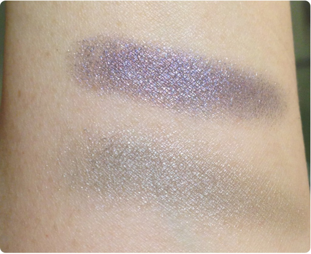 Grey-purple swatches