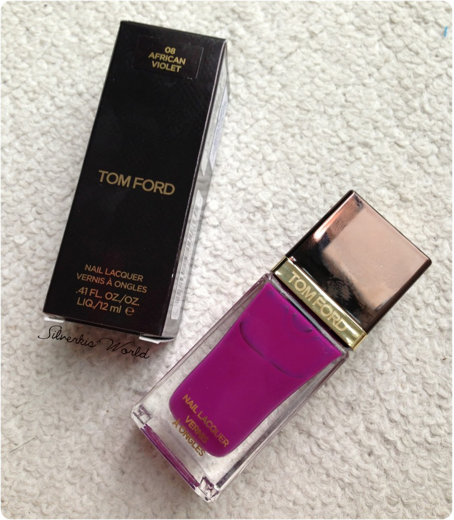 Tom Ford nail lacquer African Violet