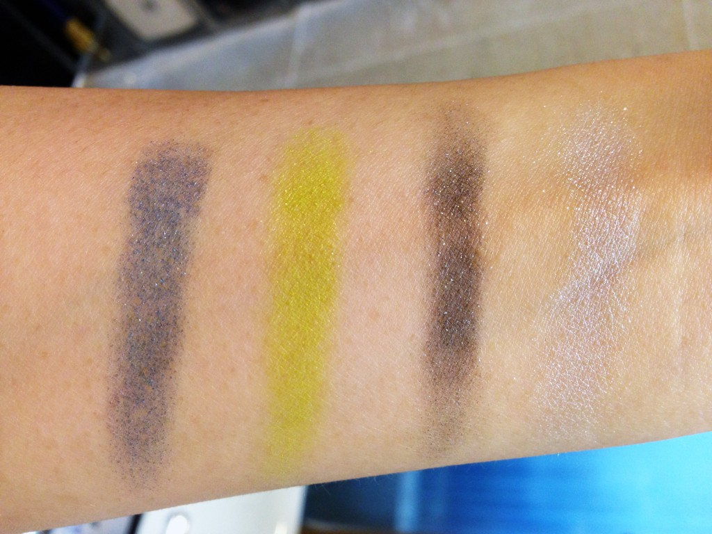 YSL City Drive Arty Palette swatches