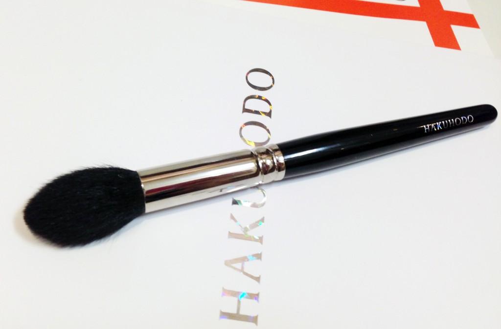 Hakuhodo highlighter brush B5521