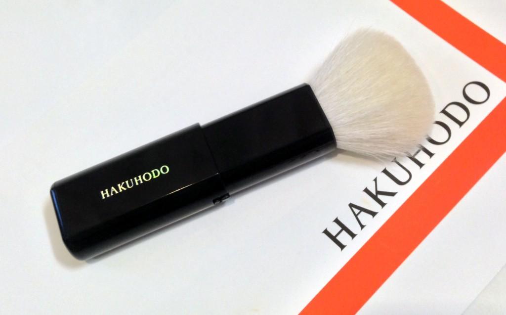 Hakuhodo retractable blush J610