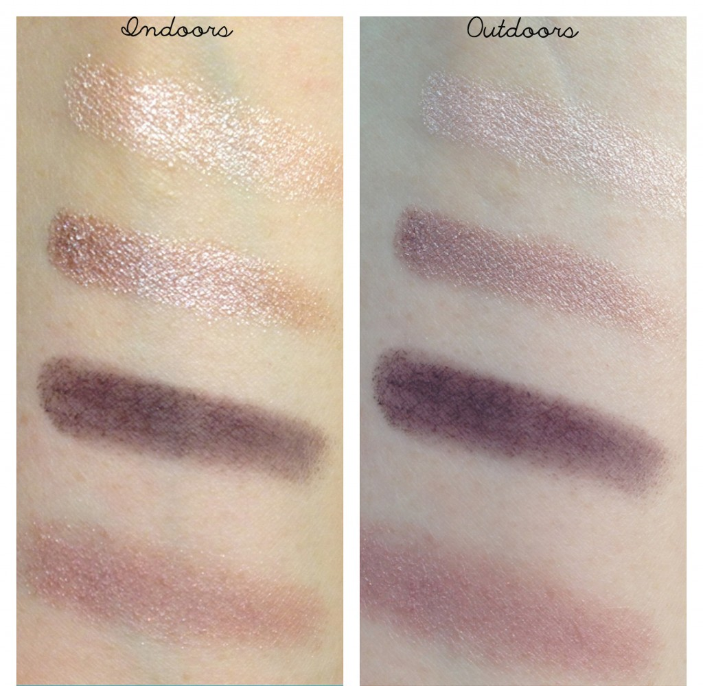 Tom Ford Orchid Haze Eyeshadow Quad swatches
