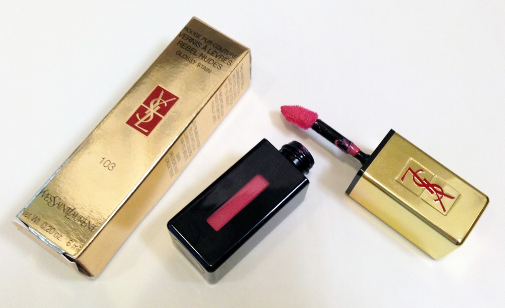 YSL Glossy Stain Rebel Nude 103