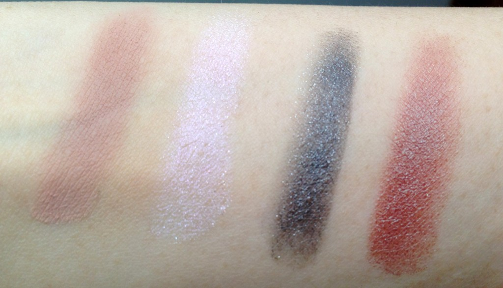 Illamasqua Empower Eyeshadow palette swatches
