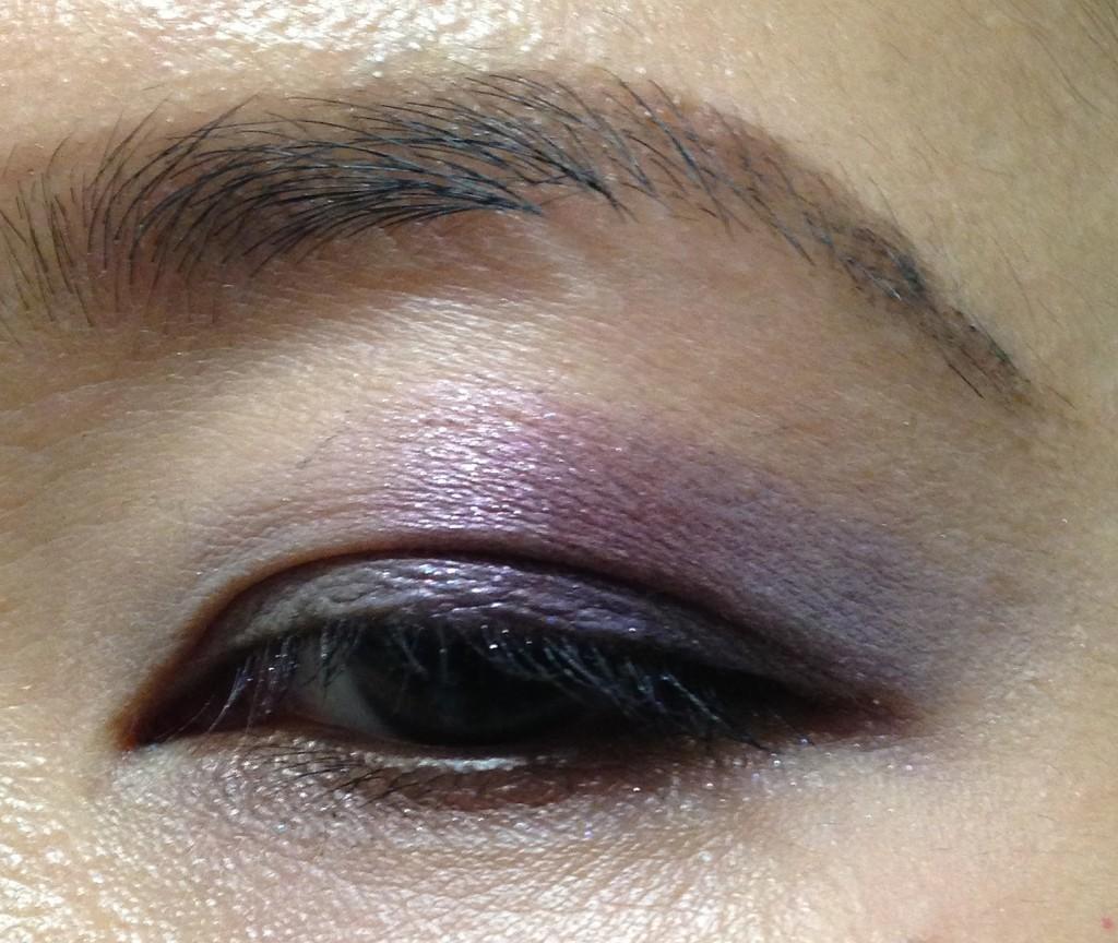 Addiction Ready to Wear Eyeshadow Palette in Departure EOTD