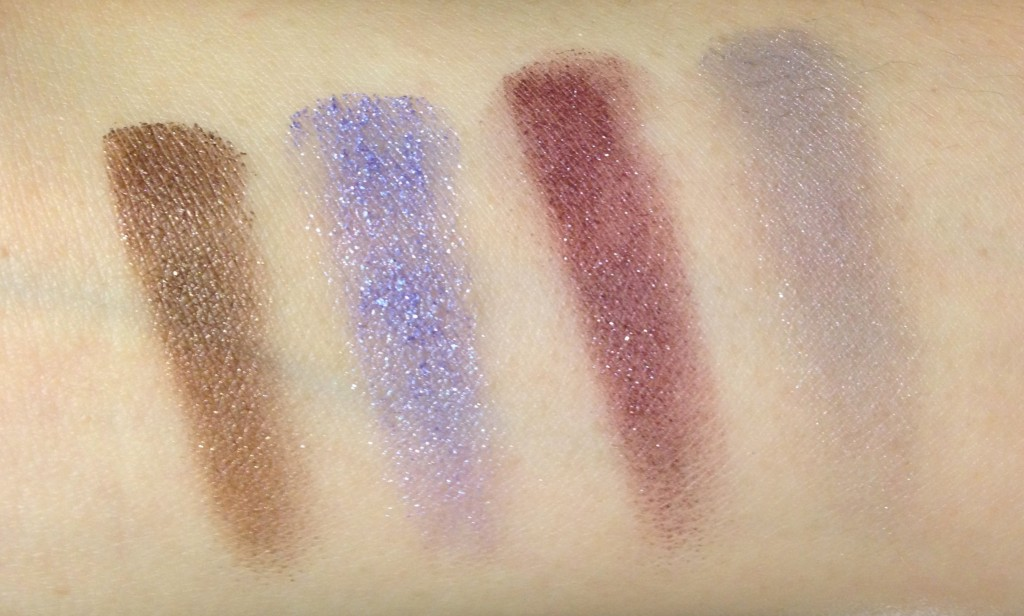 Addiction Ready to Wear Eyeshadow Palette in Departure swatches