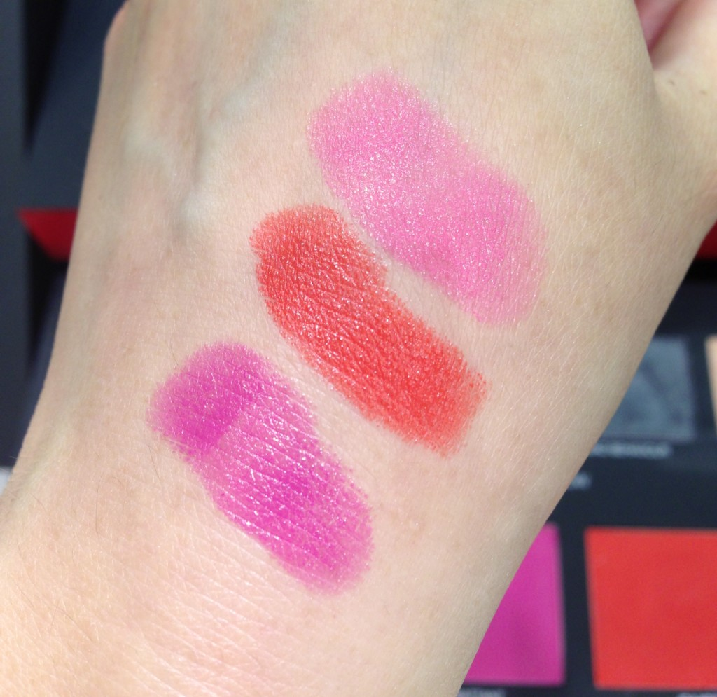 NARS Guy Bourdin Cinematic Lipstick swatches