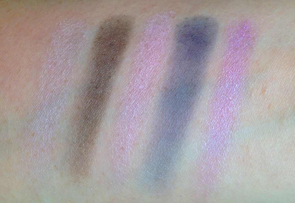 SUQQU Blend Color Eyeshadow EX-17 swatches