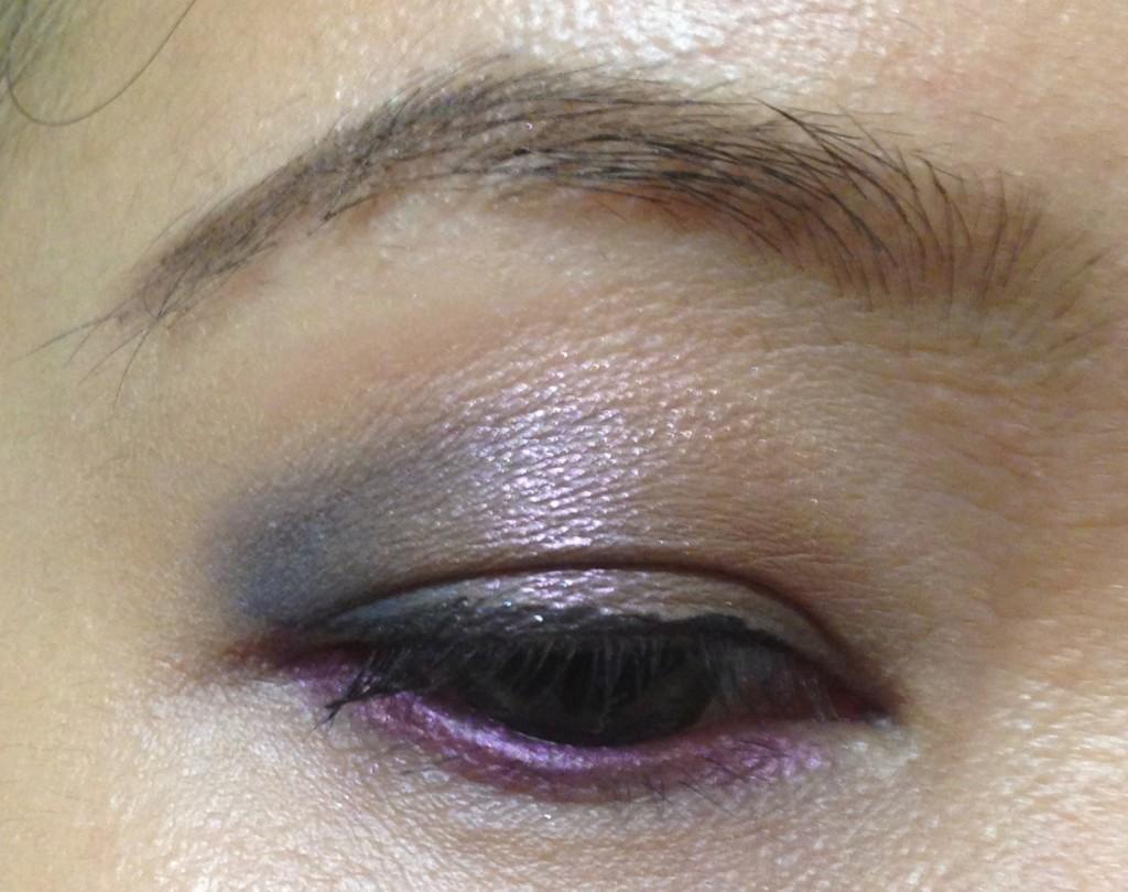 Shiseido Color Bar blue:brown:purple EOTD
