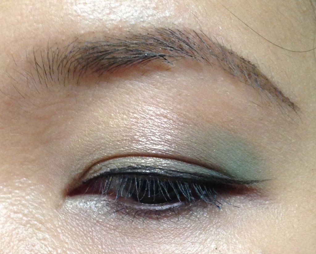 Shiseido Color Bar green:brown:gold EOTD