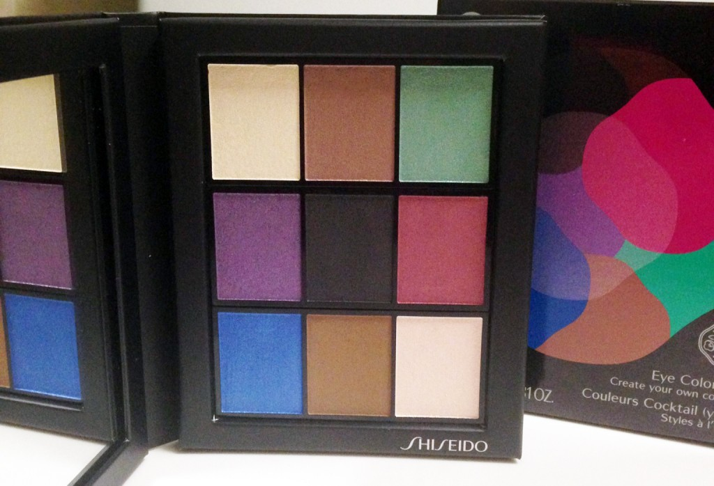 Shiseido Color Bar palette