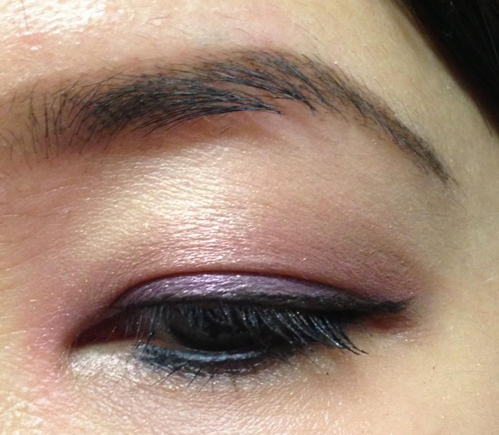 Shiseido Color Bar purple:mauve:brown EOTD