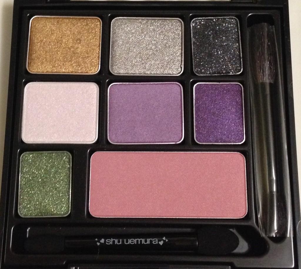 Shu Uemura 6HP Enchanted Black palette