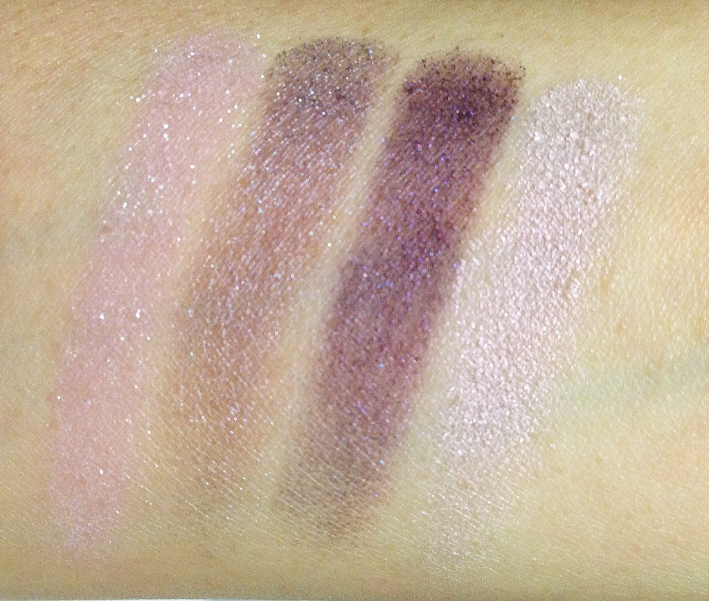 Tom Ford Lavender Lust Eye Color Quad swatches