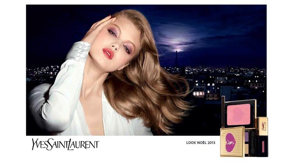 YSL Parisian Night Holiday 2013 campaign image