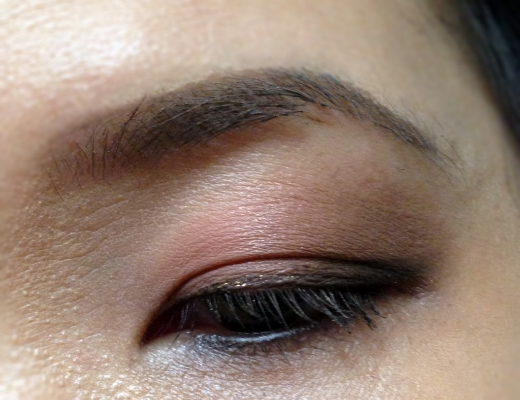 Laura Mercier EOTD with Guava:Bamboo:Espresso Bean