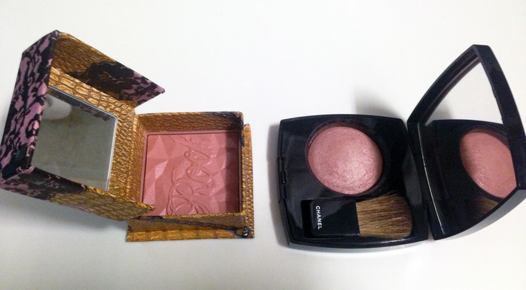 Benefit Rockateur vs Chanel Accent