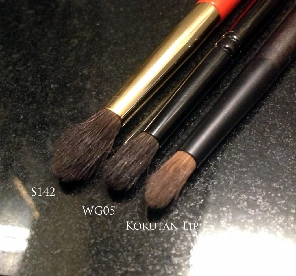 Wayne Goss 05 vs Hakuhodo S142 vs Kokutan lip