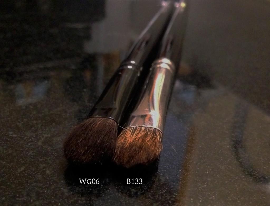 Wayne Goss 06 vs Hakuhodo B133 brush head