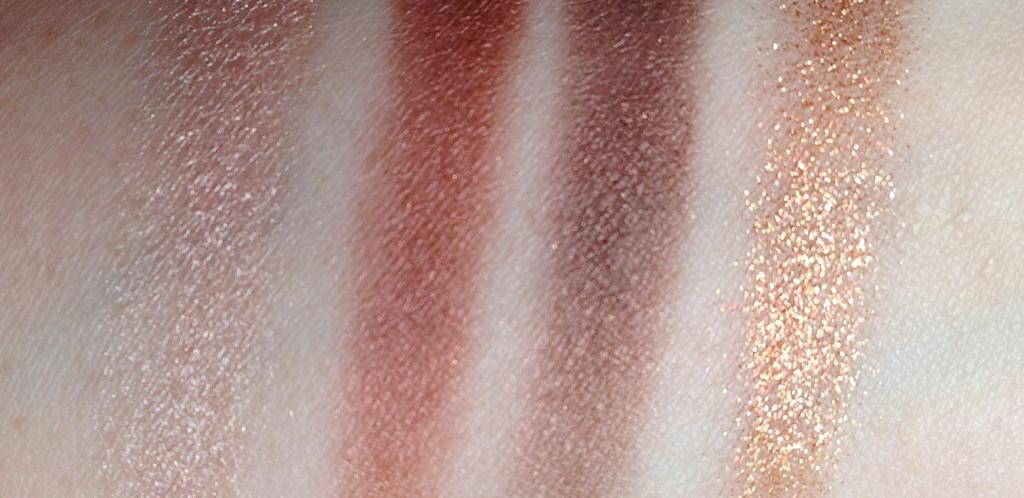 Charlotte Tilbury Dolce Vita Luxury Eyeshadow Palette swatches
