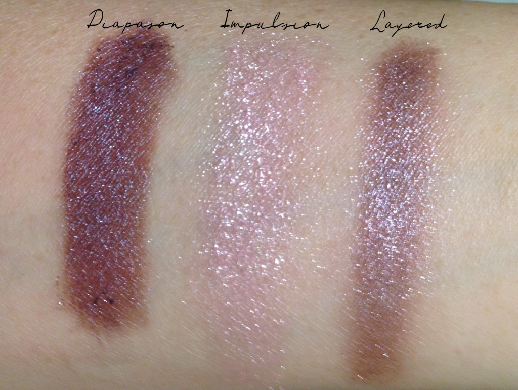 Chanel Illusion d'Ombre 92 & 93 swatches