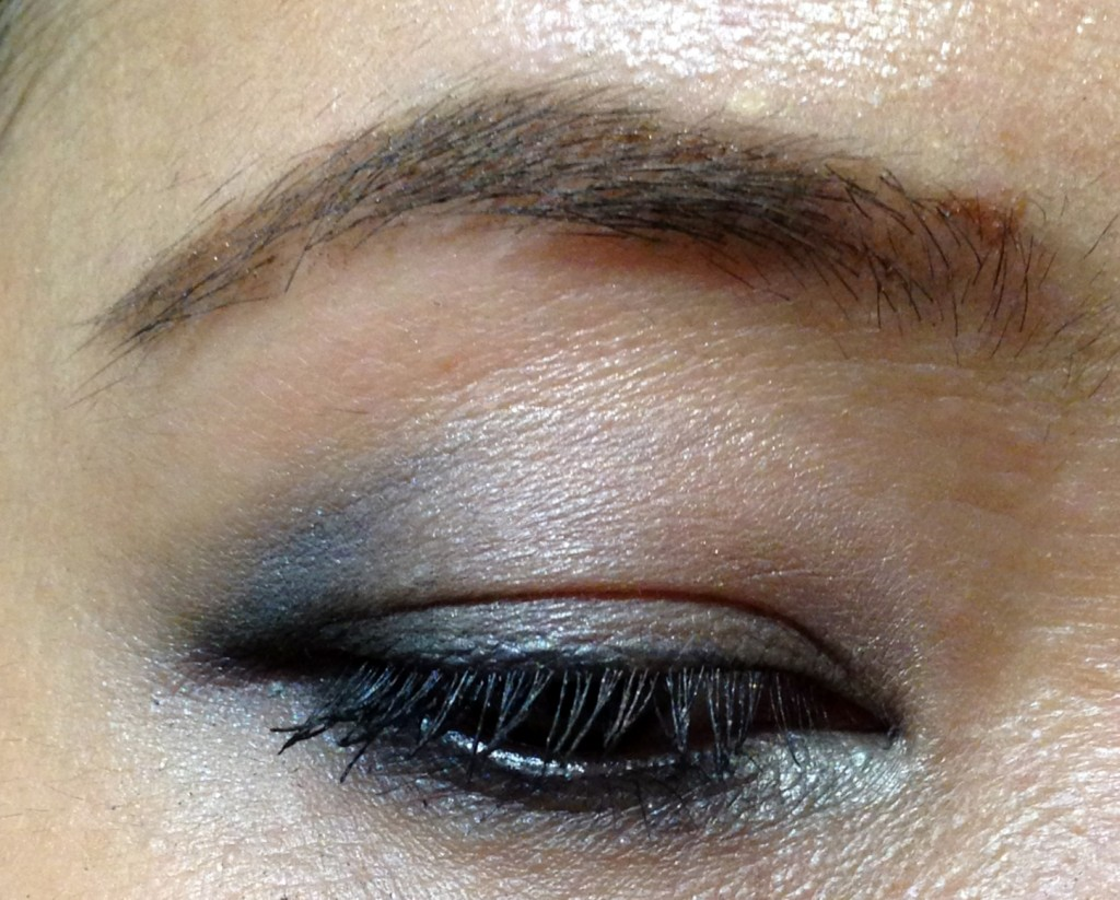 Hourglass Visionaire Eyeshadow Duo in Suede & Prism EOTD