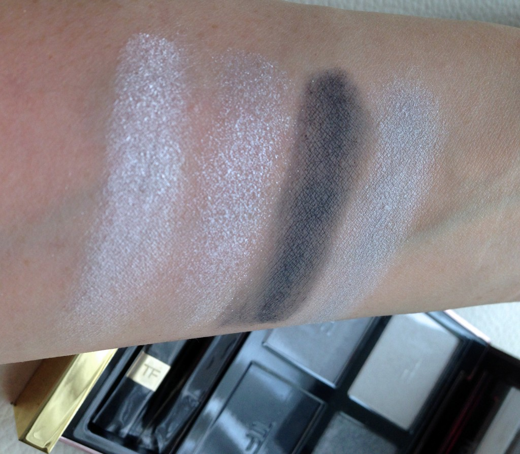 Tom Ford Ice Queen Eyeshadow Quad swatches