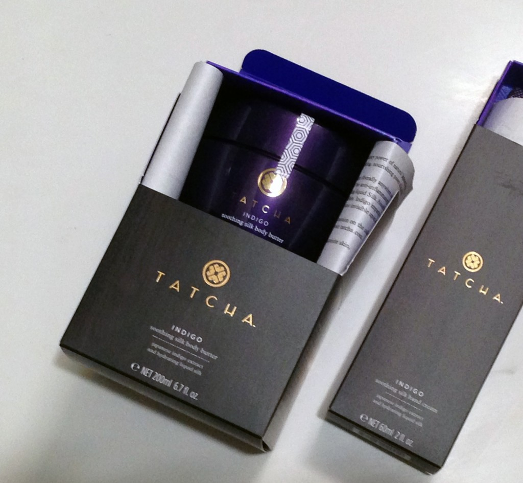 Tatcha Indigo soothing silk body cream