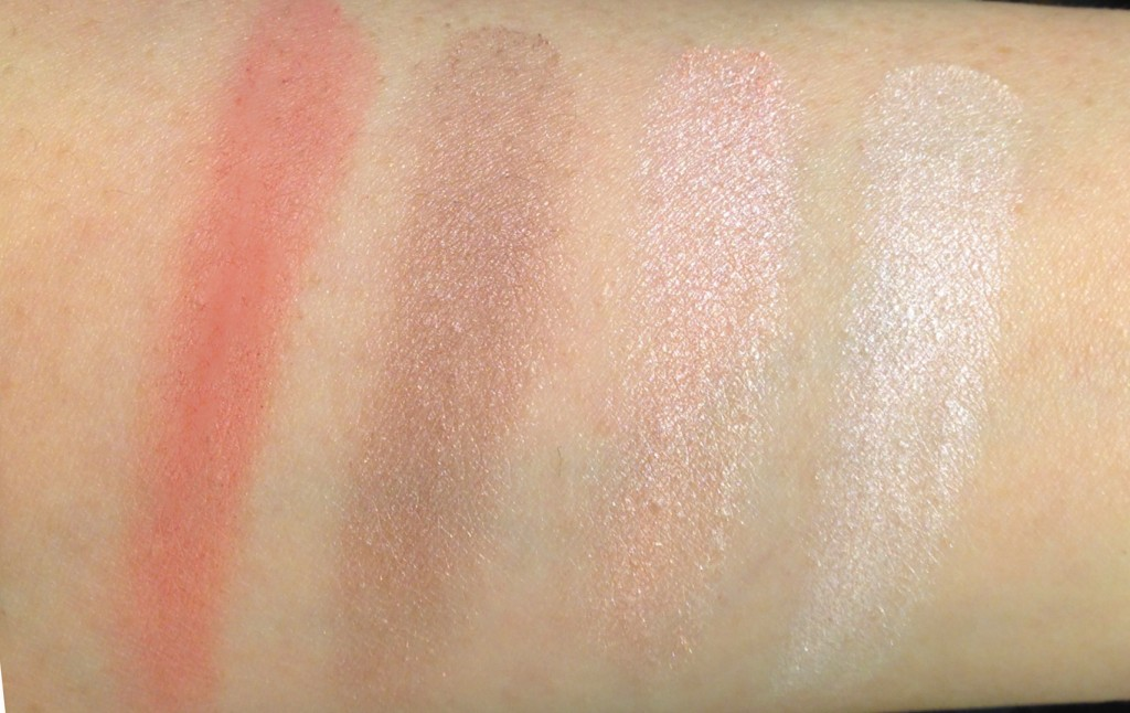 Burberry Rose Pink swatches