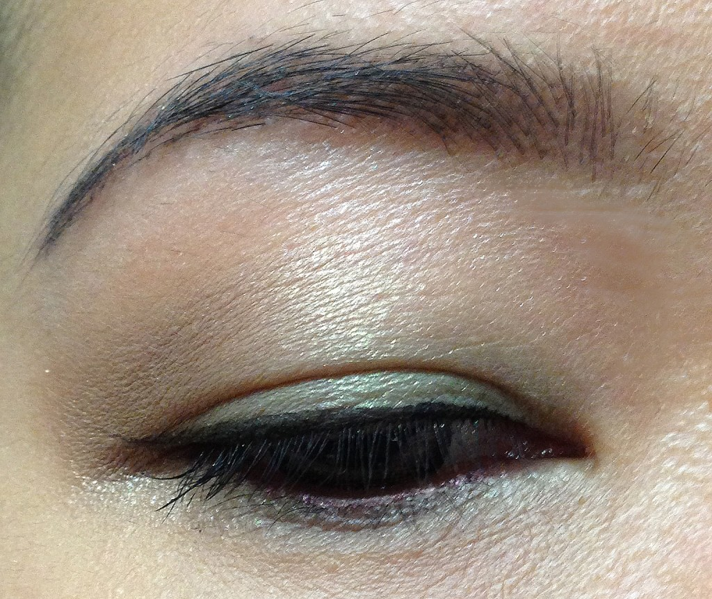 Burberry Sage Green EOTD