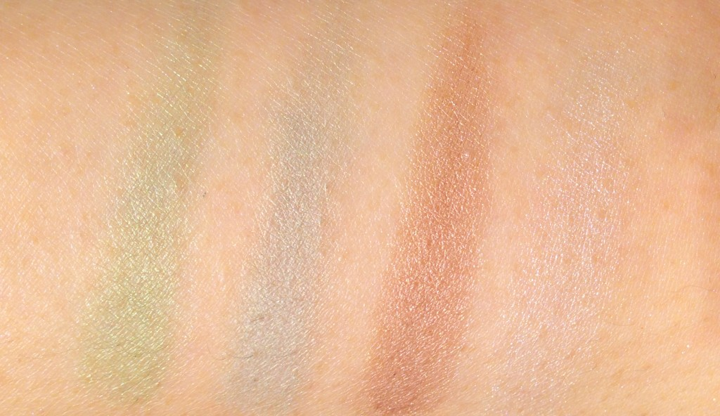 Burberry Sage Green swatches