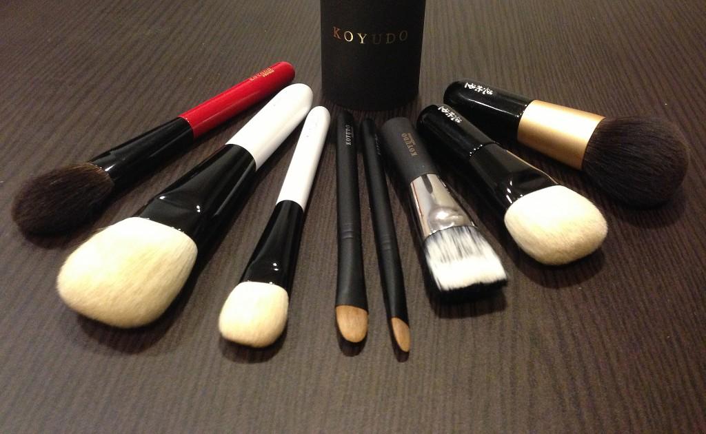 Koyudo brushes
