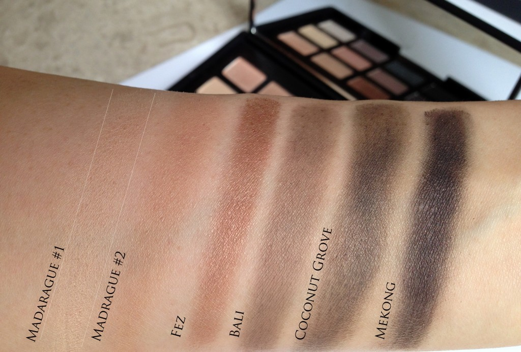 NARsissist brown swatches
