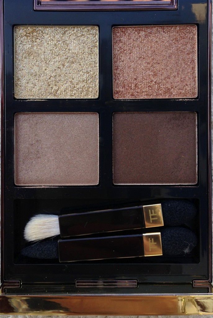 Tom Ford Eye Color Quad in Golden mink close up