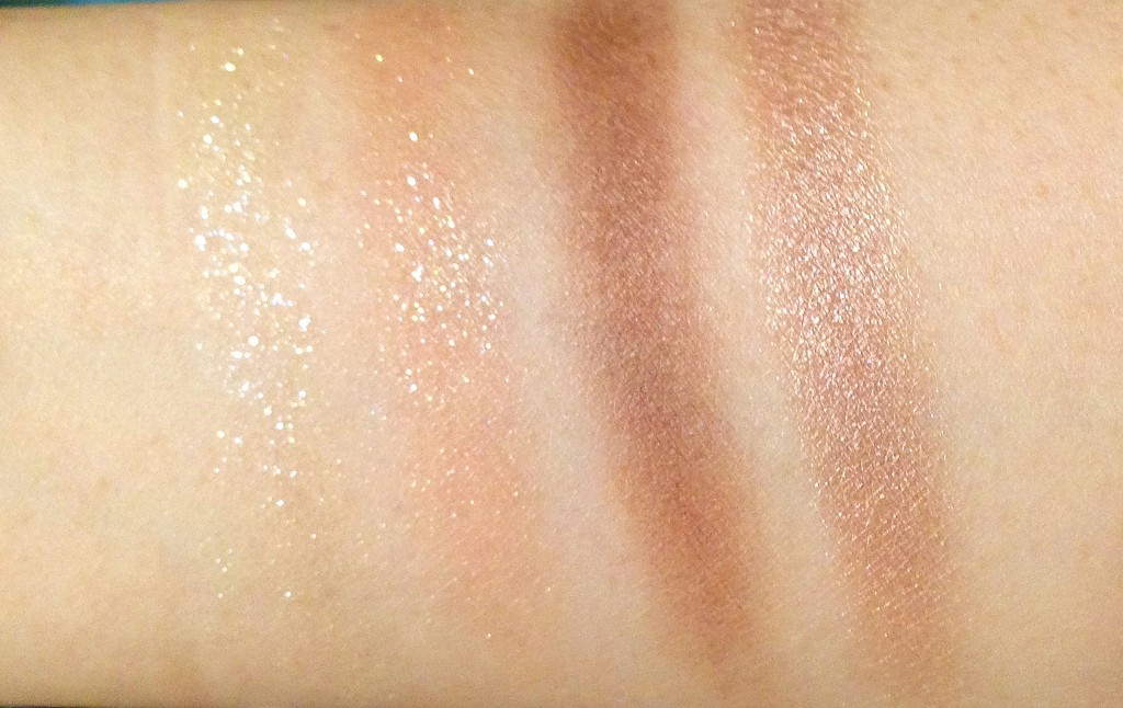 Tom Ford Eye Color Quad in Golden mink swatches