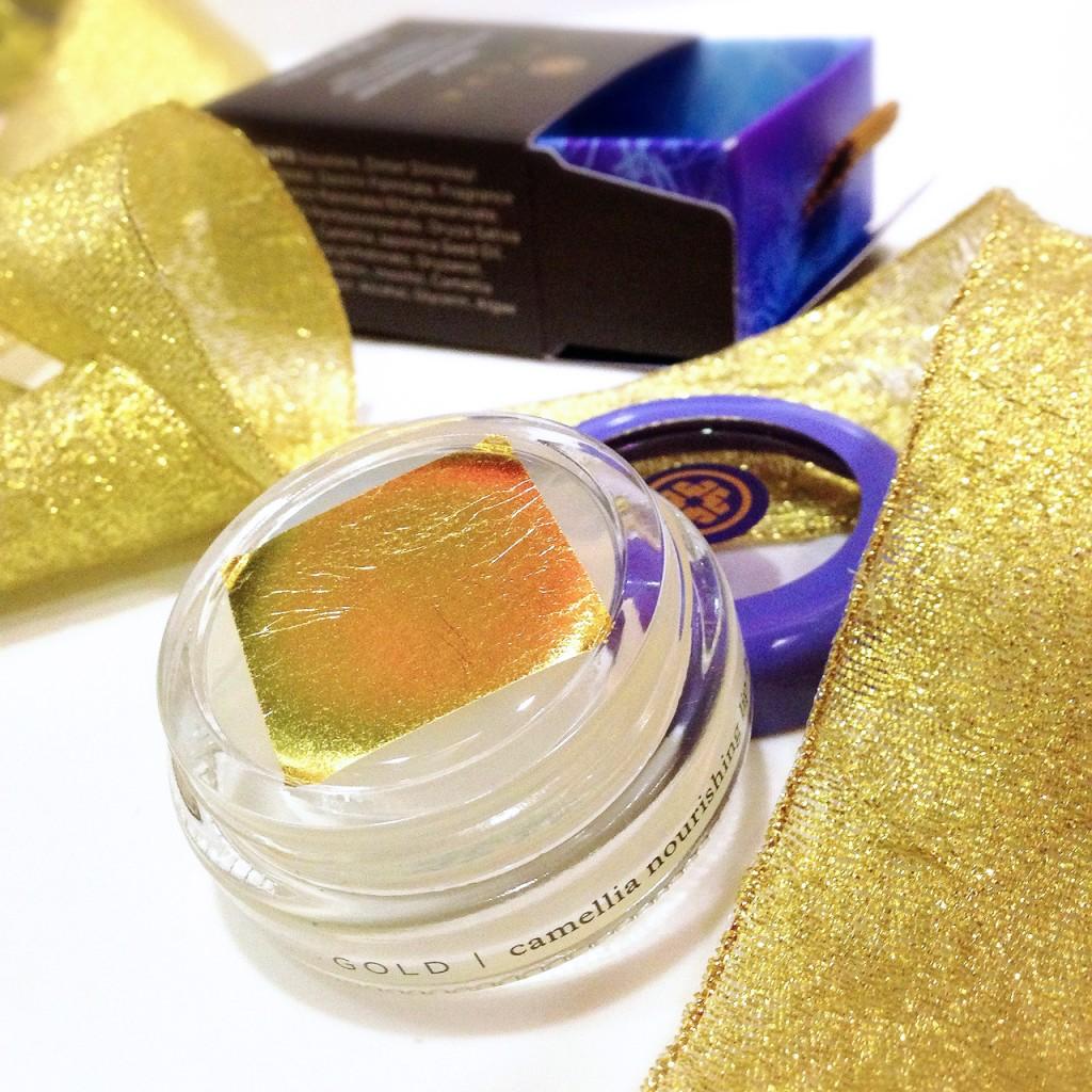 Tatcha Gold Camellia Moisturizing Lip Balm