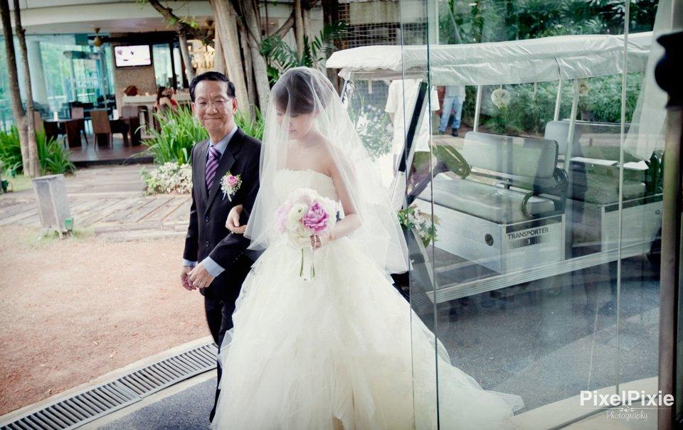 Vera Wang Eliza wedding
