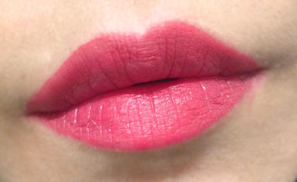 Bite Beauty Cashmere Lip Cream lip swatch
